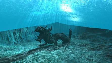 WIP Bryce underwater scene 23
