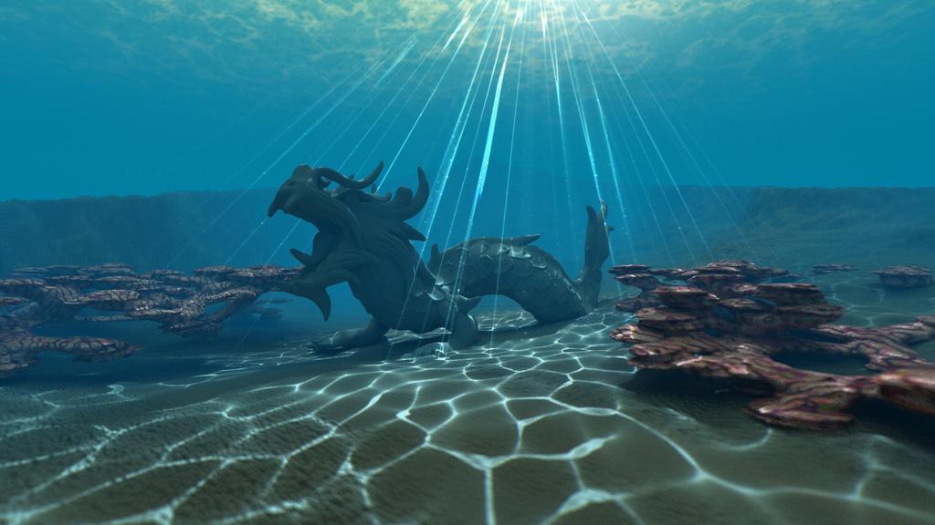 WIP Bryce underwater scene 38 by davidbrinnen