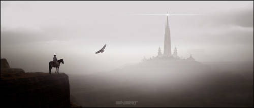 Dark tower by sinisart by Sinisart