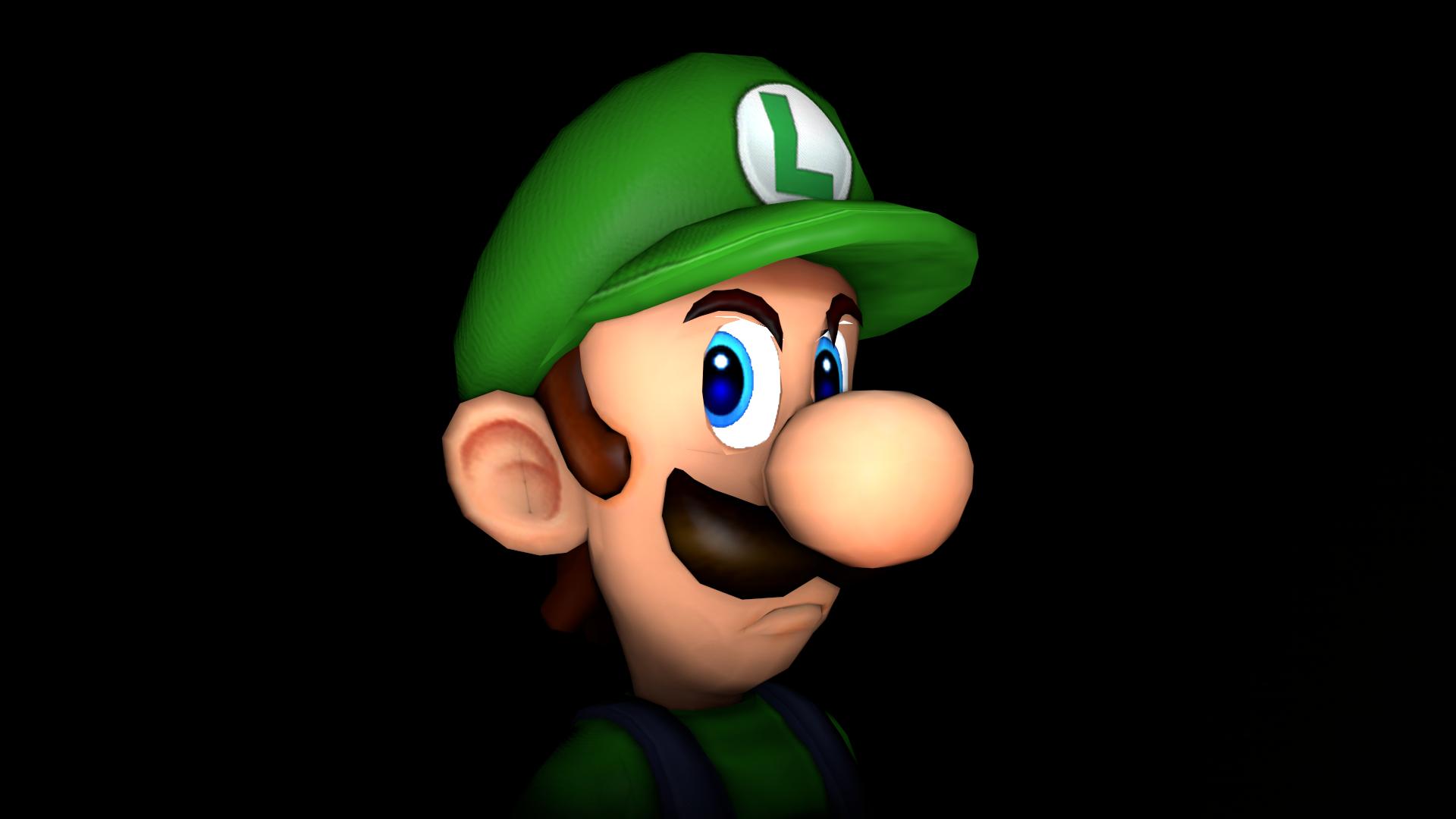 Luigi S Death Stare By Robinolsen2011 On Deviantart