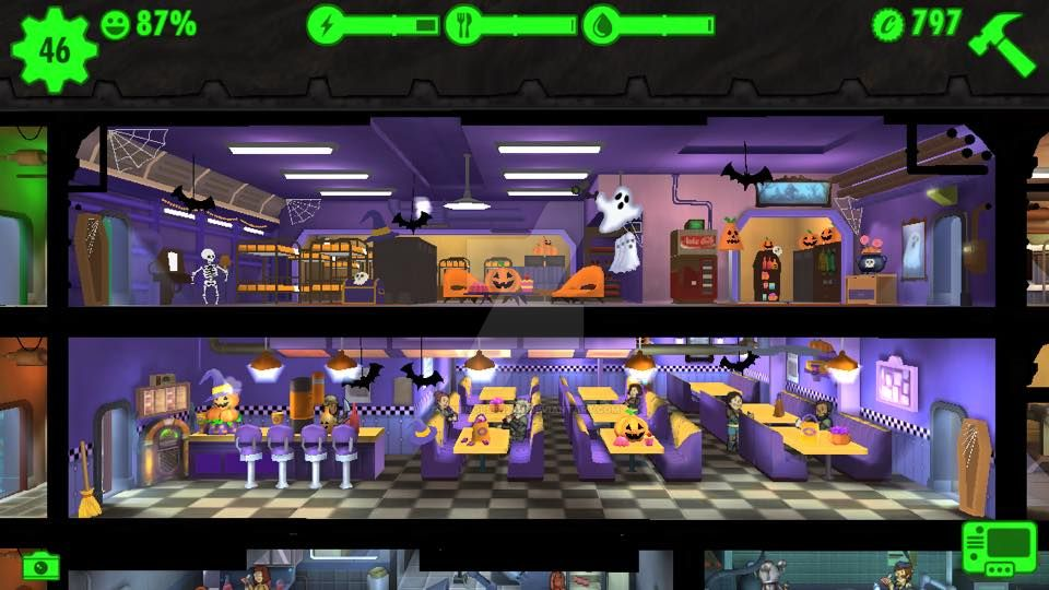 fallout shelter halloween decorations by robinolsen2011