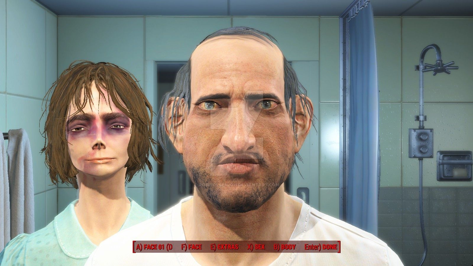 Fallout 4 - Ugly Parents by RobinOlsen2011 on DeviantArt