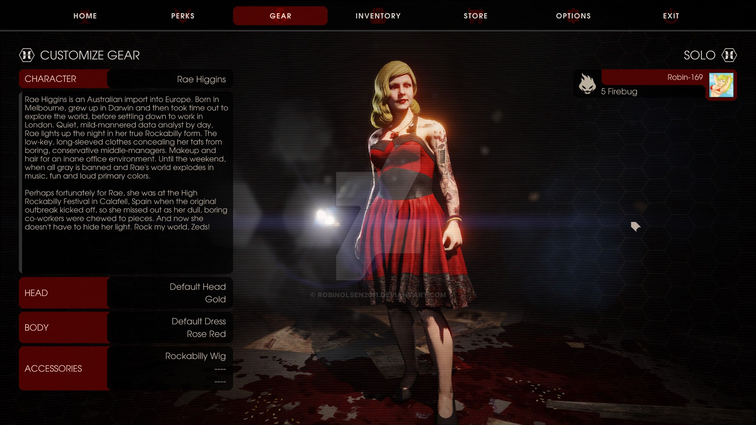 ... Killing Floor 2   Perfect Character For Me By RobinOlsen2011