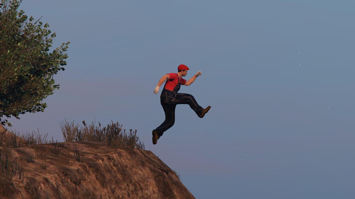 Grand Theft Auto Online - Mario by RobinOlsen2011