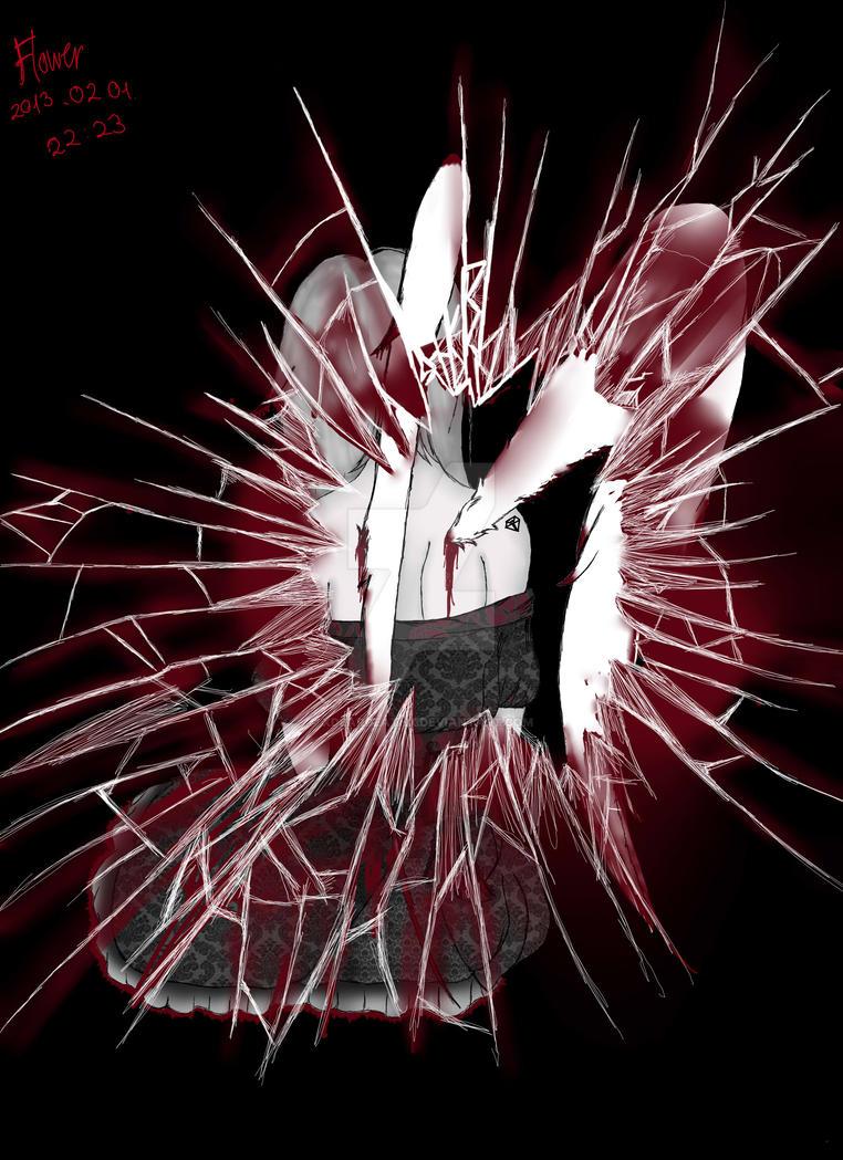Broken Angel, by xDearDeathx