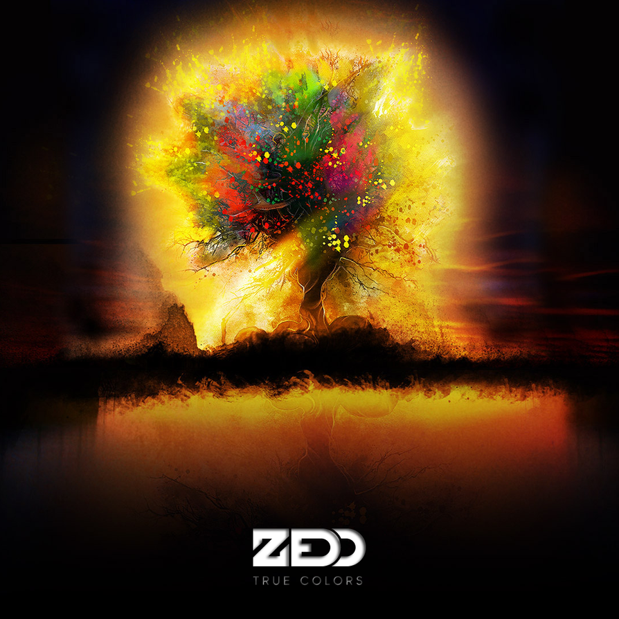 zedd true colors alternative cover 2 by daemonweaver