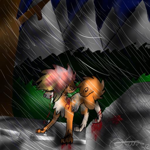 Fan art to Funnywolf Mei by Carastora