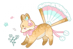 Cotton Tailed Cutie - Foxfan DTA Entry