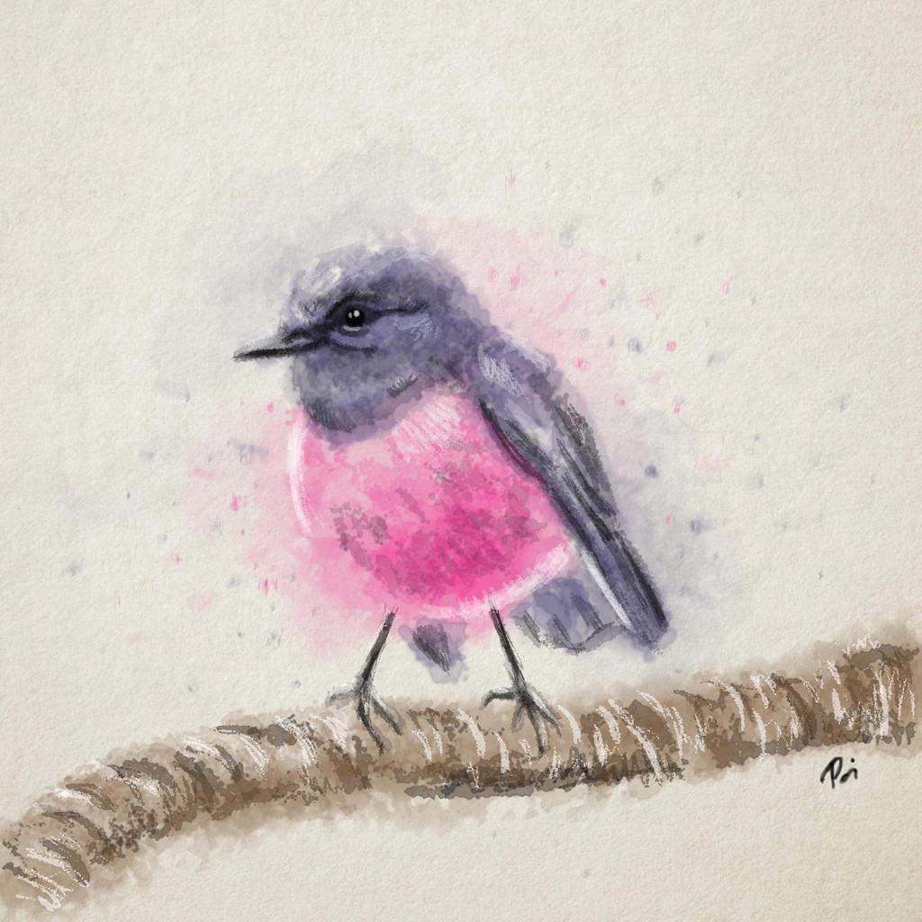 bird by lilalo-art