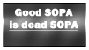 Dead SOPA is good SOPA stamp by Wredotta