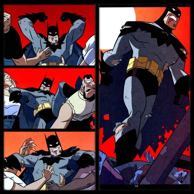 Batman comic collage by qBATGIRLq