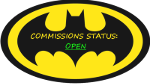 Beware The Batstamps! Comm. Open by qBATGIRLq