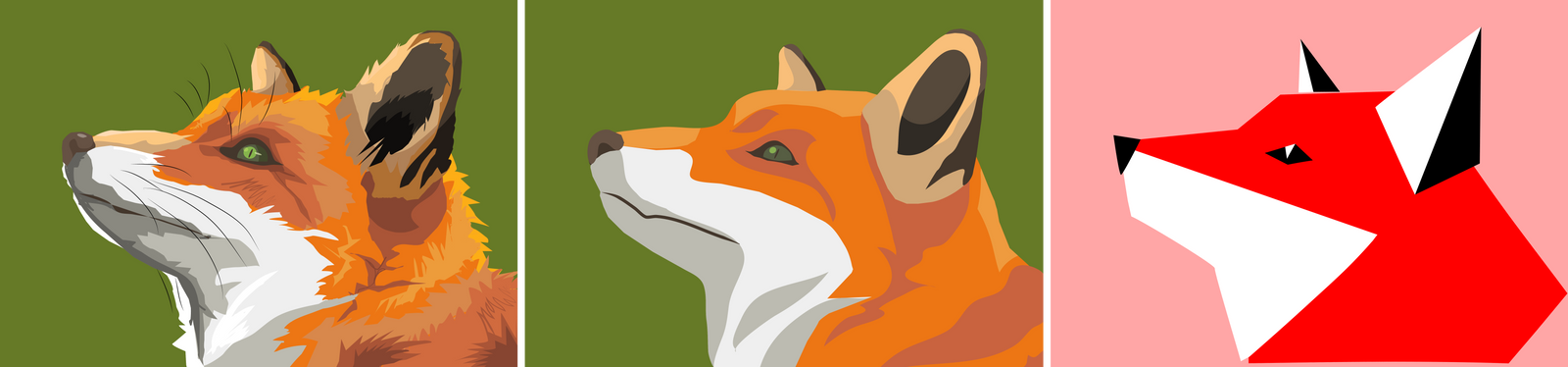 From Illustration to Logo: Fox