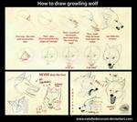 Growling wolf tutorial