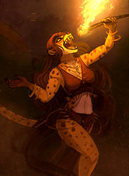 Fire dance [CM] by NatalieDeCorsair