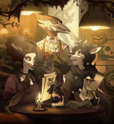 The Frontier Restaurant (tCoL game info below) by NatalieDeCorsair