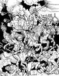 Albrecht Durer Super Battle