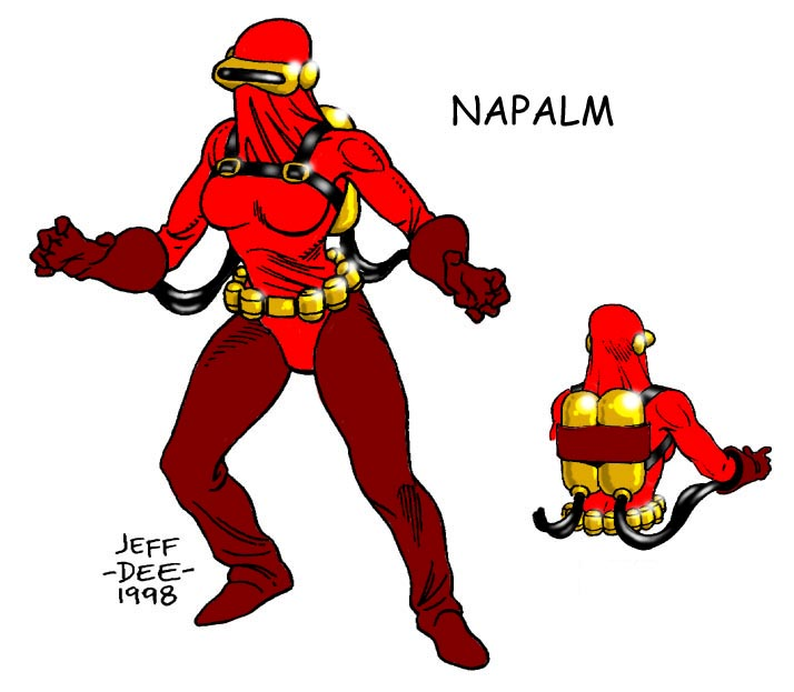 Napalm by JeffDee