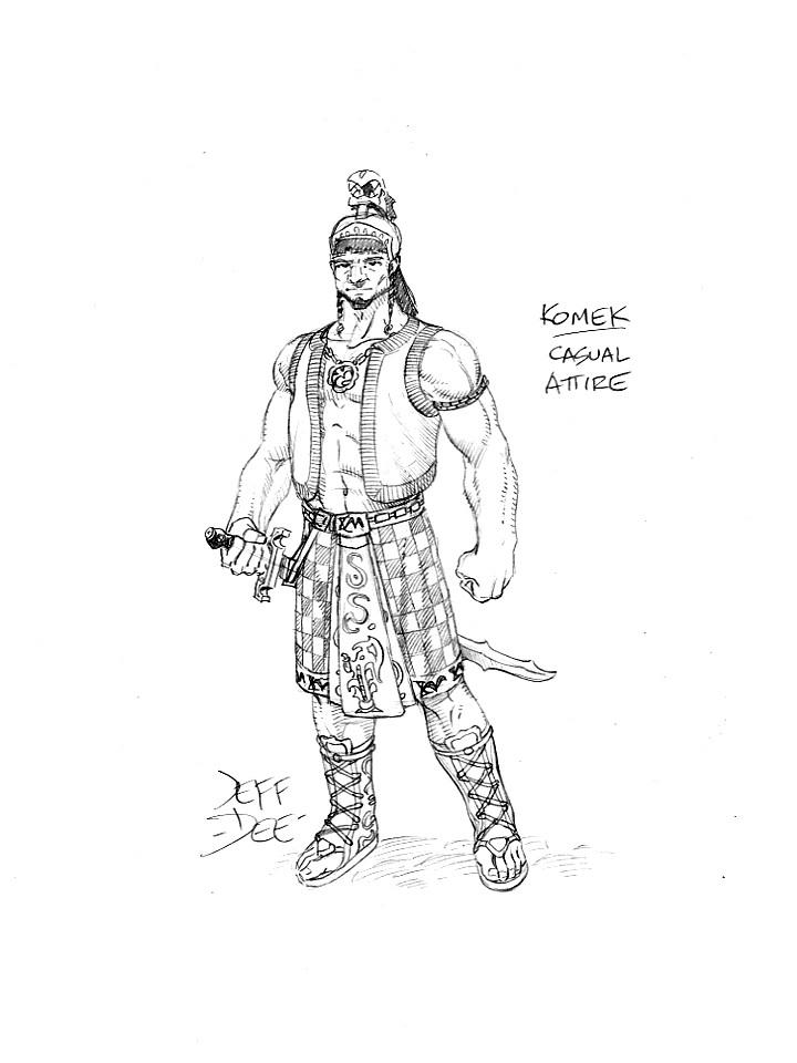 Warrior-Priest of Chegarra by JeffDee