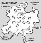 Bandit Camp Map