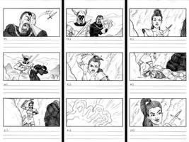 Ultima IX Storyboard 3 by JeffDee