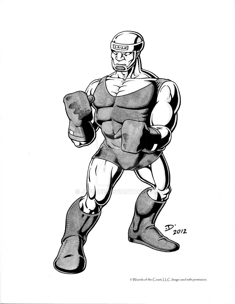 Android Boxer by JeffDee