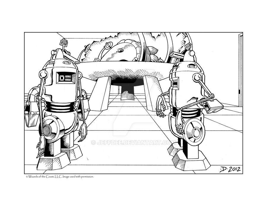 Worker Robots by JeffDee