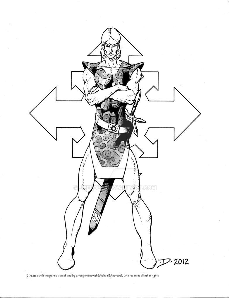 Arioch, Knight of Swords by JeffDee