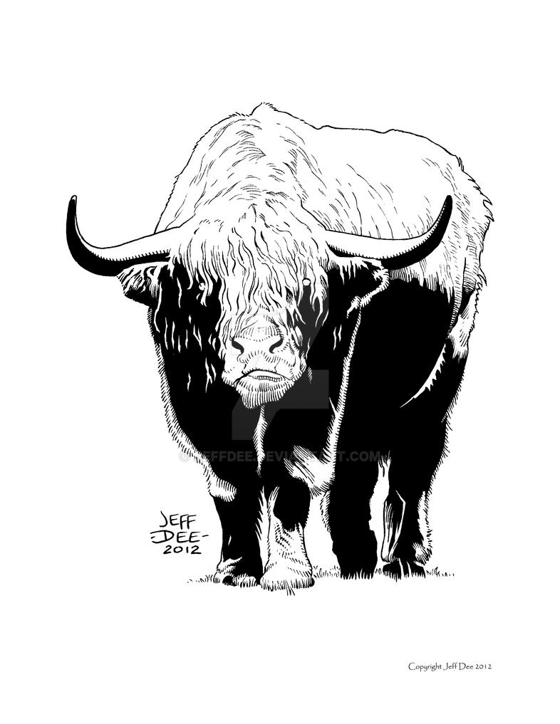Nuru-Ah, Master of Cattle by JeffDee