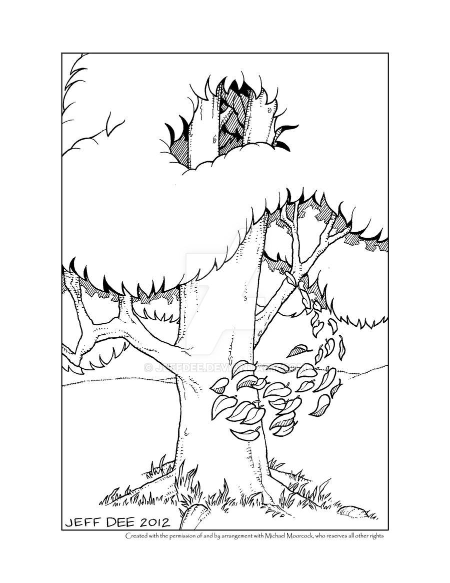 Vampire Tree by JeffDee