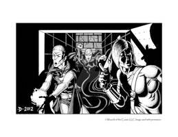 Vampire Ambush by JeffDee