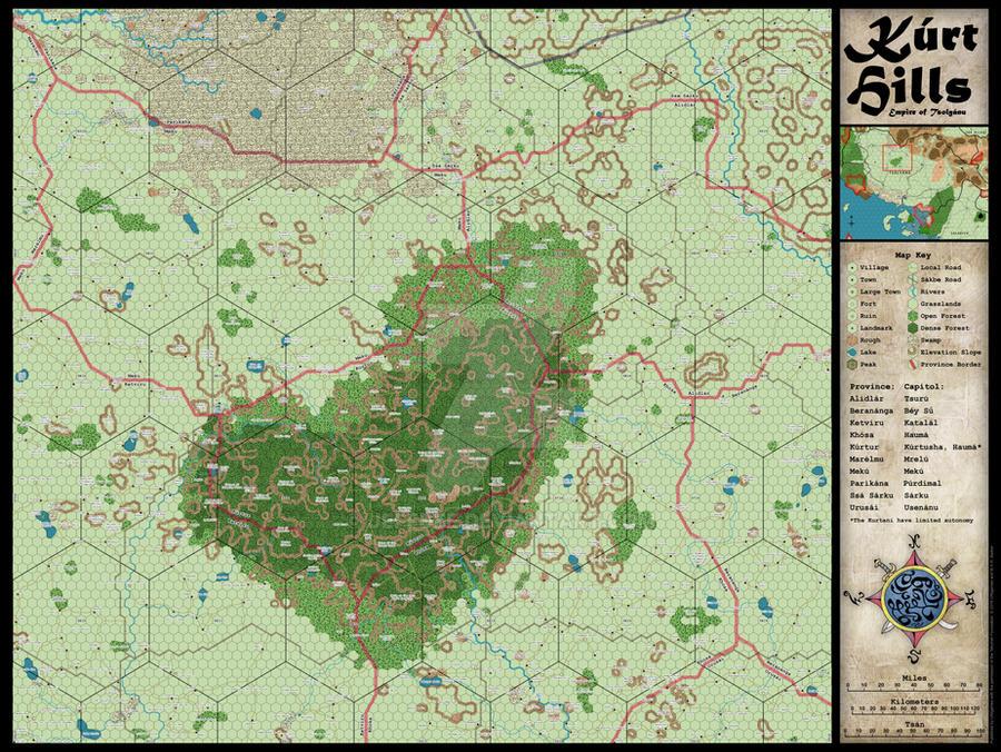 Kurt Hills Map by JeffDee