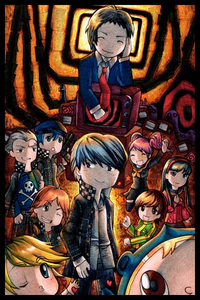 Persona 4 by Ayuyowsky