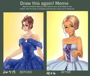 Improvement Meme :: dress ::