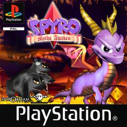 Spyro Myths Awaken fan cover