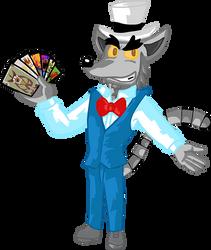 Crash Bandicoot OC - Vincent Van Lemur