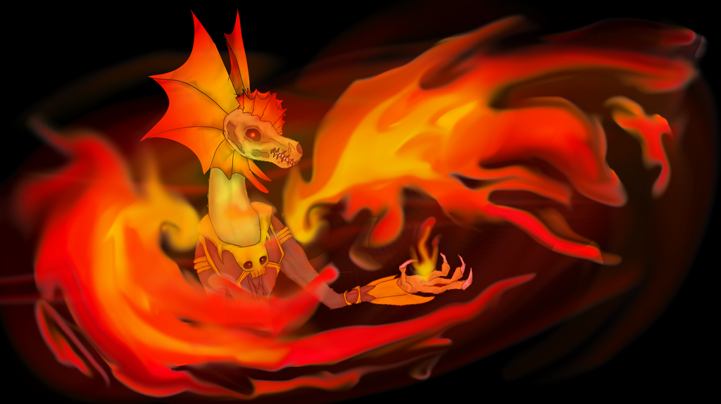 a Growing flame by Tiraserphina
