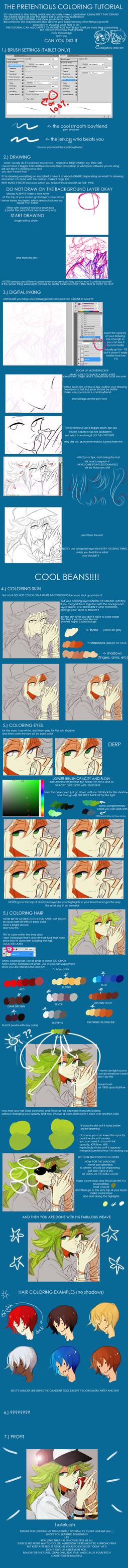 the worst pretentious tutorial by Kite-Mitiko