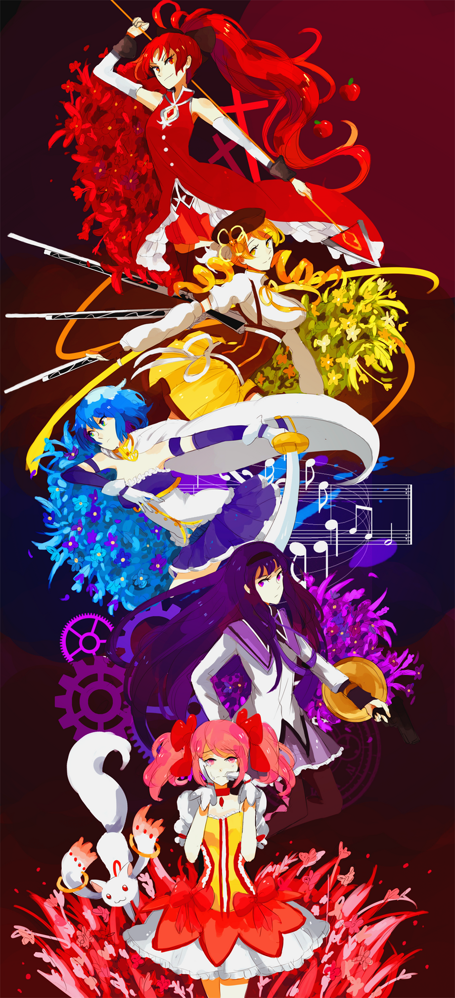 MADOKA MAGICA by Kite-Mitiko