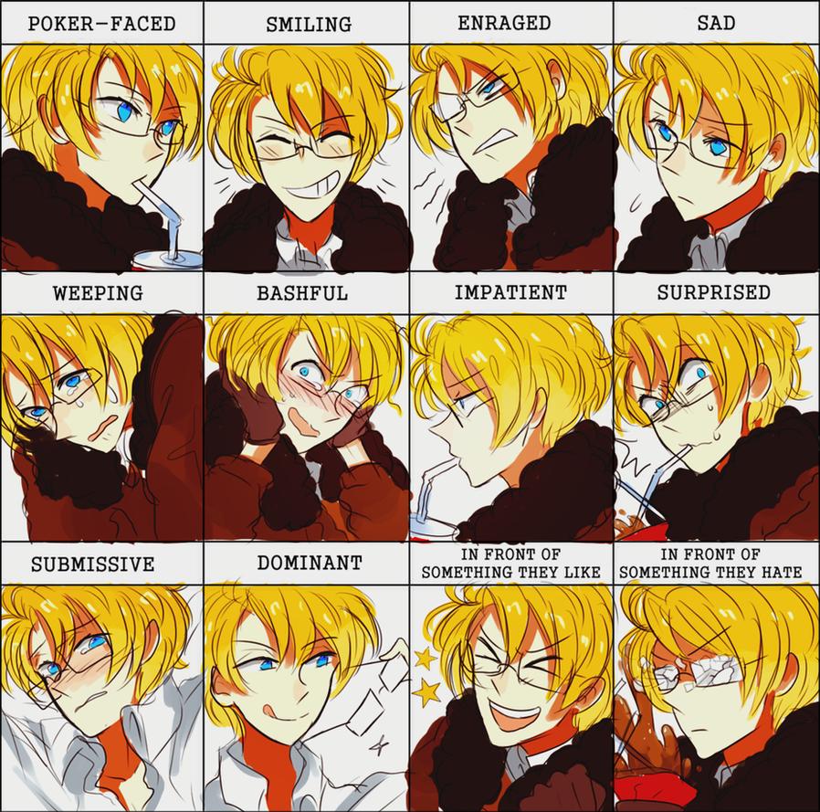 Meme Of Emotions By Kite Mitiko On Deviantart