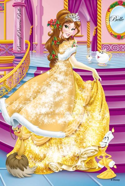 Disney Princess Belle Merry Christmas New Look By BeautifPrincessBelle