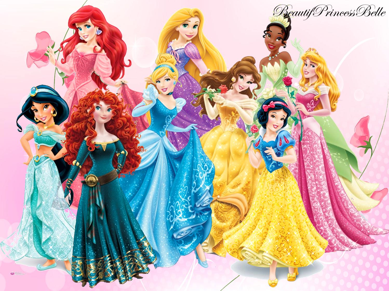 Disney Princesses Dream To Be A Princess By