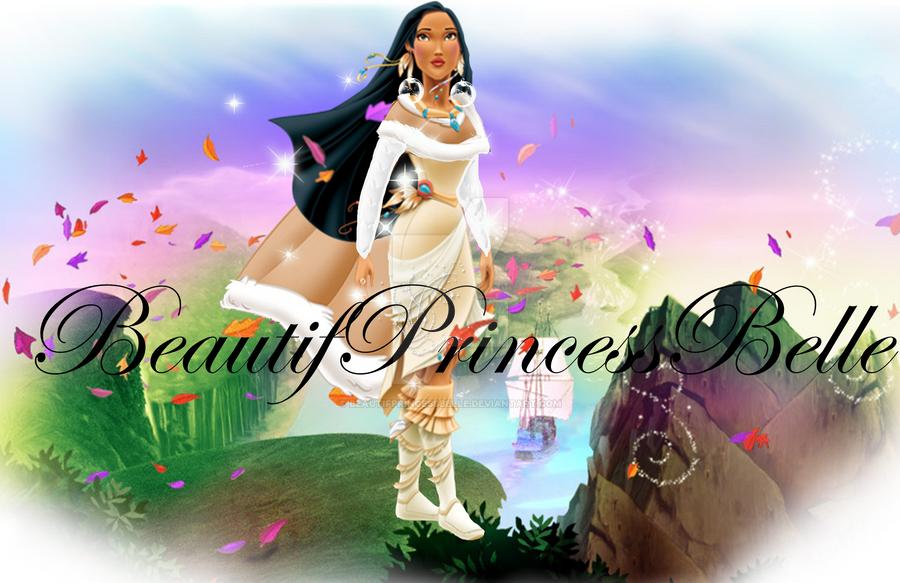 Princess Pocahontas Christmas Look By BeautifPrincessBelle