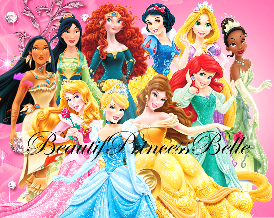 disney princesses vip girls by beautifprincessbelle on