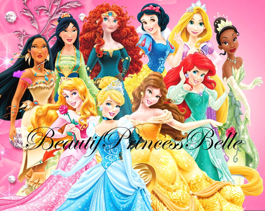 Disney princesses vip girls by beautifprincessbelle on - Image princesse disney ...