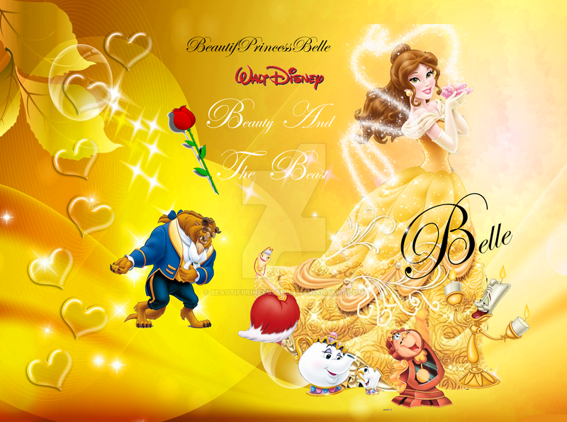 Princess Belle - Royal Wallpaper by BeautifPrincessBelle ...