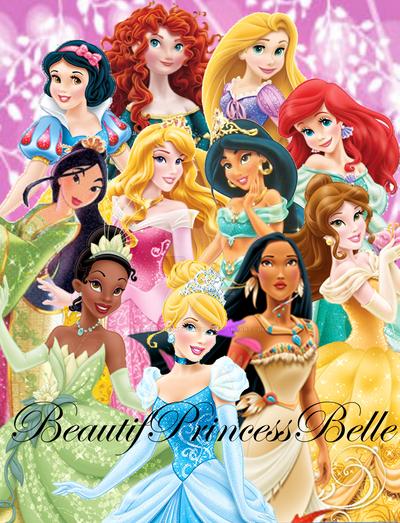 disney princesses the 11 disney princesses by