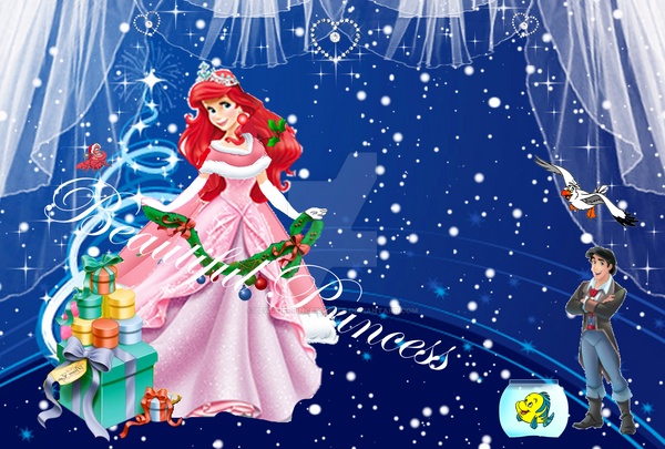 princess ariel new christmas look i created it by beautifprincessbelle - When Was Christmas Created