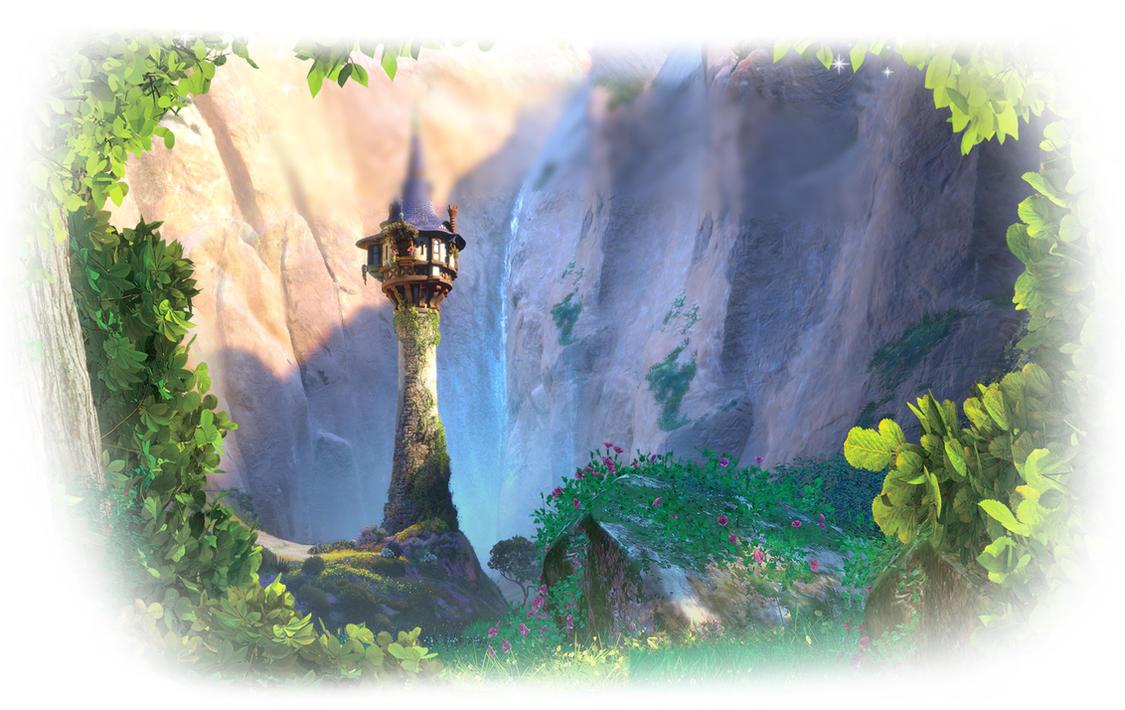 Rapunzel background by beautifprincessbelle on deviantart - Tangled tower wallpaper ...
