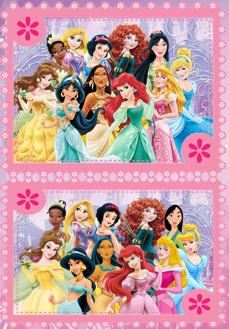Disney Princesses - Redesign VS Old Design by BeautifPrincessBelle on ...